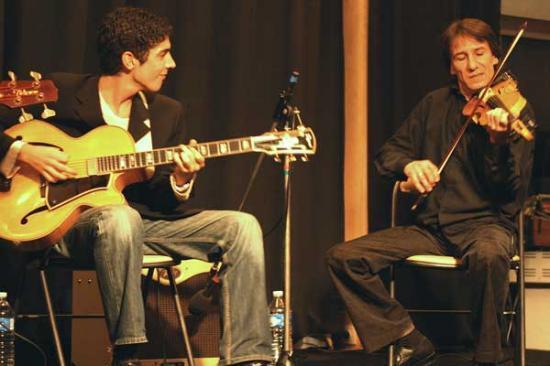Django Memory Quartet : Richard Manetti, François Arnaud