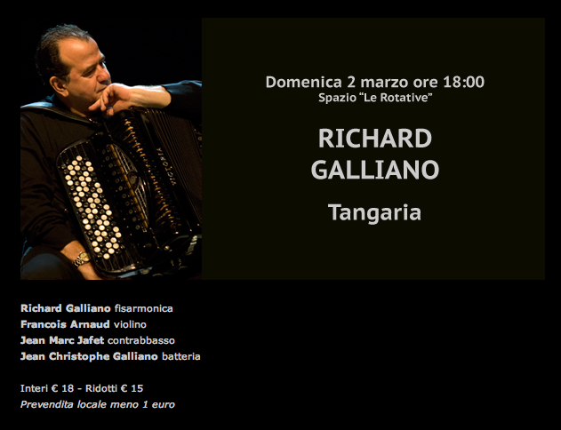 Piacenza Richard Galliano