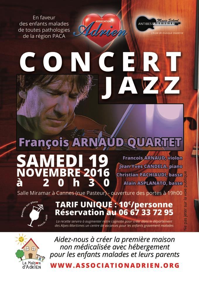 François Arnaud pour Association Adrien