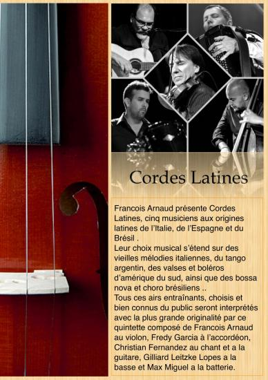 Cordes Latines François Arnaud